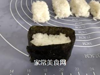 军舰寿司(又伊鲜)的做法步骤:8