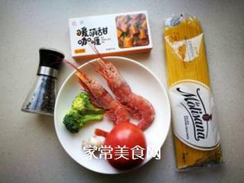 红虾意面的做法步骤:1