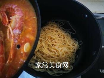 红虾意面的做法步骤:14