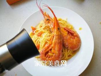 红虾意面的做法步骤:16