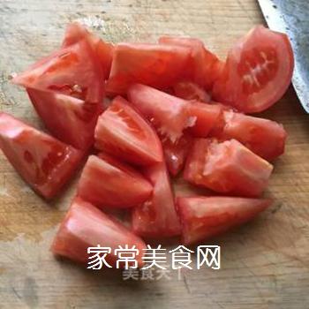 西兰花炒番茄的做法步骤:4