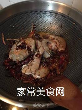 香辣虾的做法步骤:4
