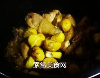 栗子鸡的做法步骤:9
