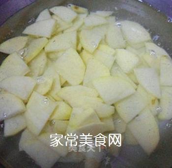 尖椒番茄土豆片的做法步骤:3