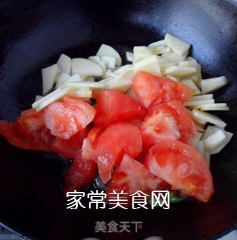 尖椒番茄土豆片的做法步骤:5