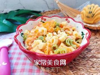 【宝宝辅食】三文鱼杂蔬意面的做法步骤:14