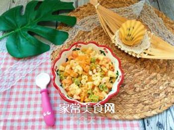 【宝宝辅食】三文鱼杂蔬意面的做法步骤:15