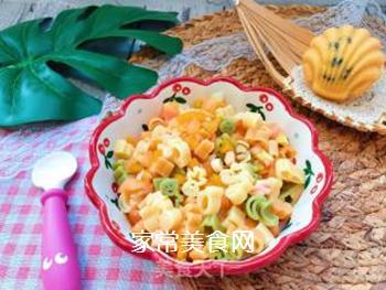 【宝宝辅食】三文鱼杂蔬意面的做法步骤:16