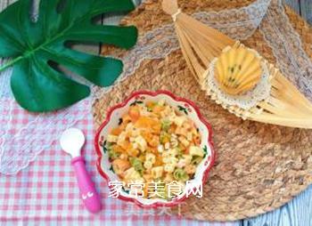 【宝宝辅食】三文鱼杂蔬意面的做法步骤:17