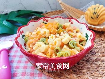 【宝宝辅食】三文鱼杂蔬意面的做法
