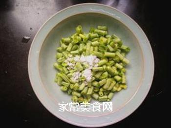 妈妈的味道:西红柿豆角咸汤的做法步骤:1