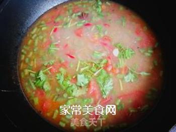 妈妈的味道:西红柿豆角咸汤的做法步骤:11