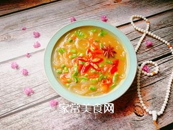 妈妈的味道:西红柿豆角咸汤的做法
