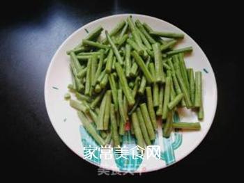 西红柿豆角卤面的做法步骤:4