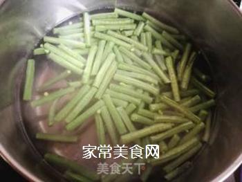 西红柿豆角卤面的做法步骤:5
