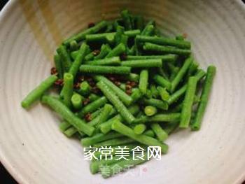西红柿豆角卤面的做法步骤:6