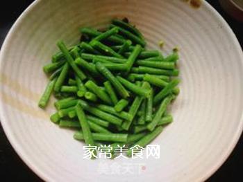 西红柿豆角卤面的做法步骤:7