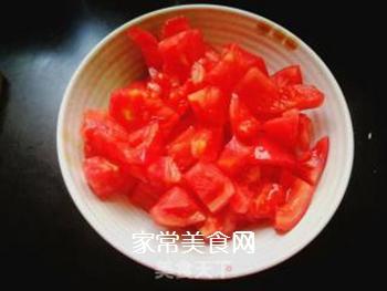 西红柿豆角卤面的做法步骤:9