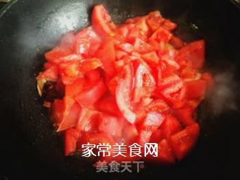 西红柿豆角卤面的做法步骤:14