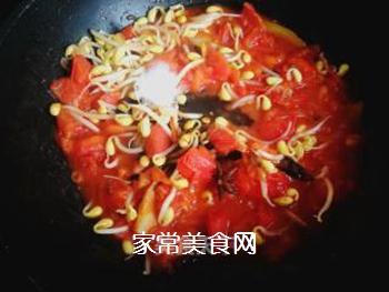 西红柿豆角卤面的做法步骤:17