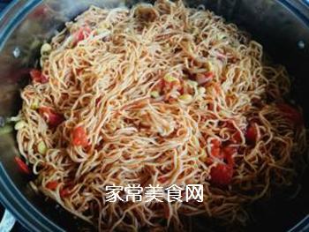 西红柿豆角卤面的做法步骤:20