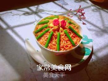 西红柿豆角卤面的做法步骤:24