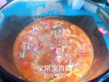 【宝宝辅食】藜麦蝴蝶面汤的做法步骤:8
