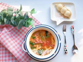 【宝宝辅食】藜麦蝴蝶面汤的做法步骤:11