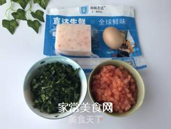宝宝辅食:虾丸珍珠面的做法步骤:1