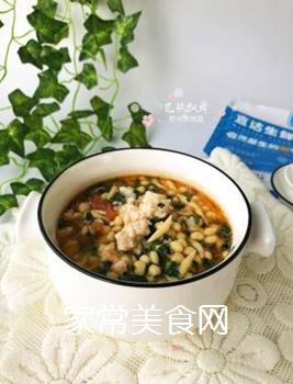 宝宝辅食:虾丸珍珠面的做法步骤:13