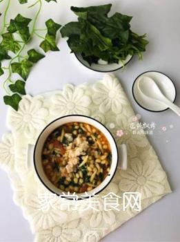 宝宝辅食:虾丸珍珠面的做法步骤:15