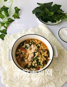 宝宝辅食:虾丸珍珠面的做法步骤:16