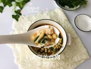宝宝辅食:虾丸珍珠面的做法步骤:17
