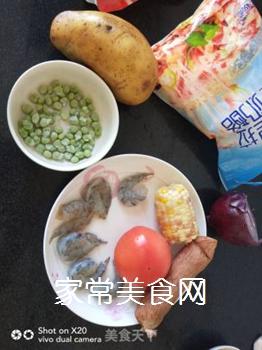 鲜虾�h饭的做法步骤:1