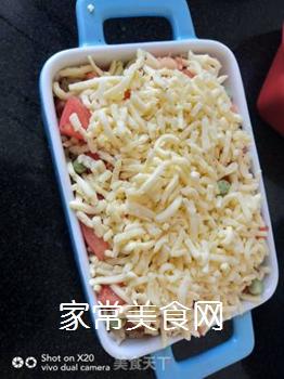 鲜虾�h饭的做法步骤:4