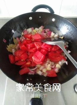 西红柿焖牛腩的做法步骤:7
