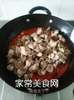 西红柿焖牛腩的做法步骤:9