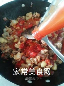西红柿焖牛腩的做法步骤:10