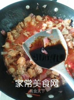 西红柿焖牛腩的做法步骤:11
