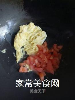 西红柿鸡蛋炒饭的做法步骤:5