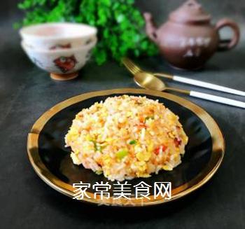 西红柿鸡蛋炒饭的做法步骤:10
