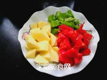 西红柿土豆炖牛腩的做法步骤:2