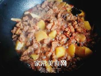 西红柿土豆炖牛腩的做法步骤:13