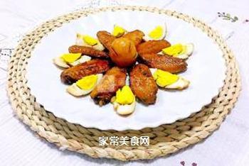 红烧鸡翅炖蛋的做法步骤:18