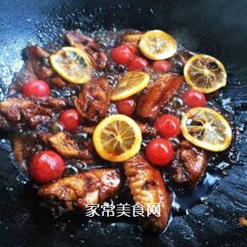 柠檬可乐鸡翅的做法步骤:9