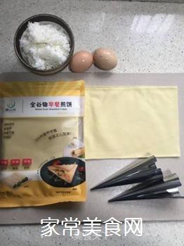 蛋炒饭的做法步骤:1
