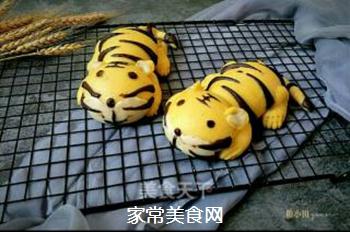 两只老虎馒头的做法步骤:32