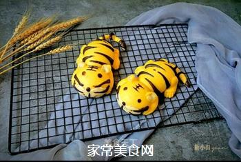 两只老虎馒头的做法
