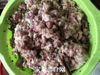 莴笋干肉包的做法步骤:4