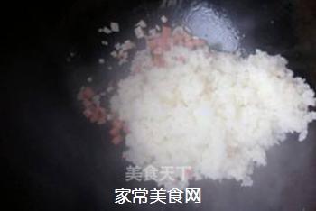 原味蛋炒饭的做法步骤:3